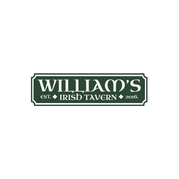 Neighborhood pub William's Tavern needs a logo