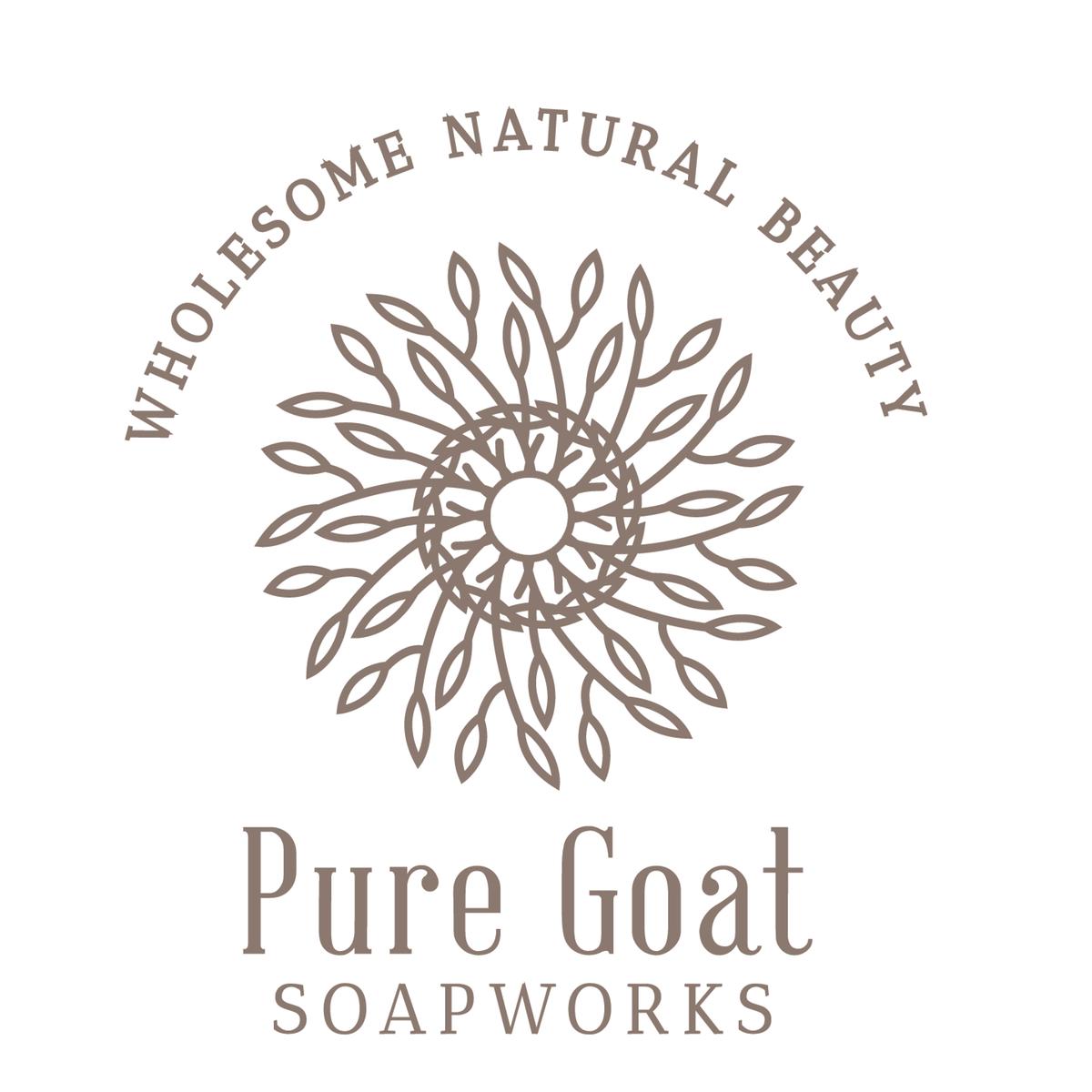 Pure Goat Soapworks Logo Design