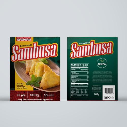 Sambusa - packaging
