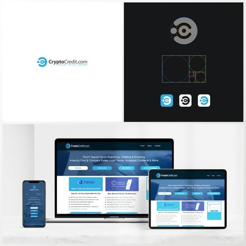 CryptoCredit.com Logo Design