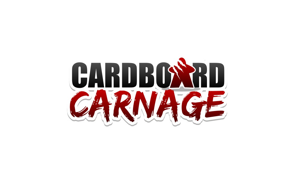 Create an awesome logo for Cardboard Carnage