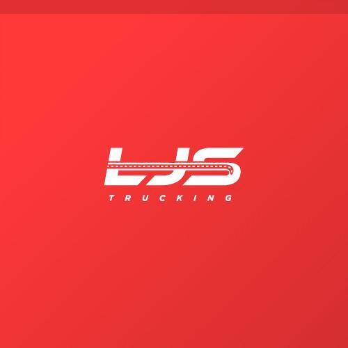 Logotype Concept Design for LJS Trucking
