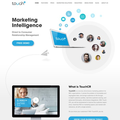 Sophisticated B2B Web Design