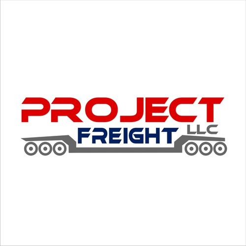 A modern logo for a freight logistics company