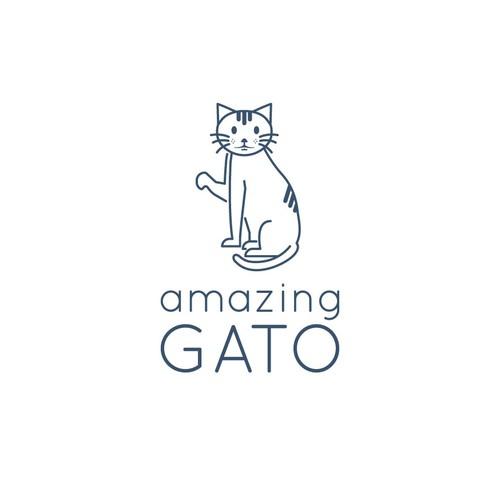 Monoline Cat Logo
