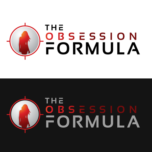 bold logo concept for THE OBSESSION FORMULA