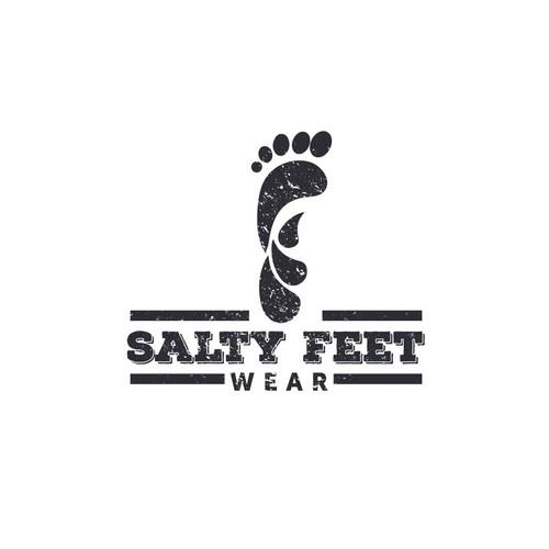 salty feet logo