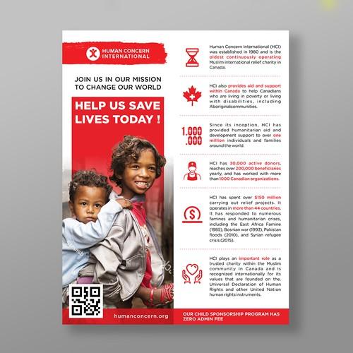 Infografhic : Human Concern International