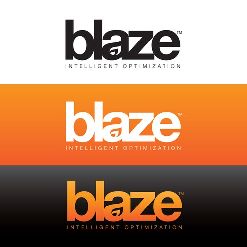 Blaze - Logo for hot new software startup