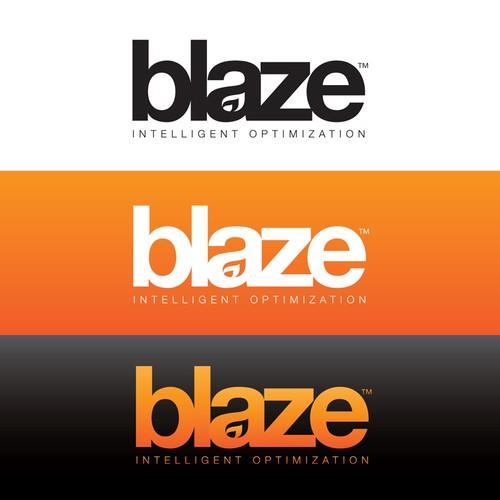 Blaze - Logo for hot new software startup