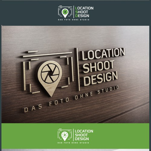 Logo for onlocation-Photography: Location-Shoot-Design.com