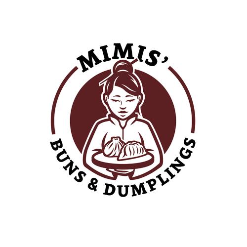 Bold logo concept for a Asian food restaurant
