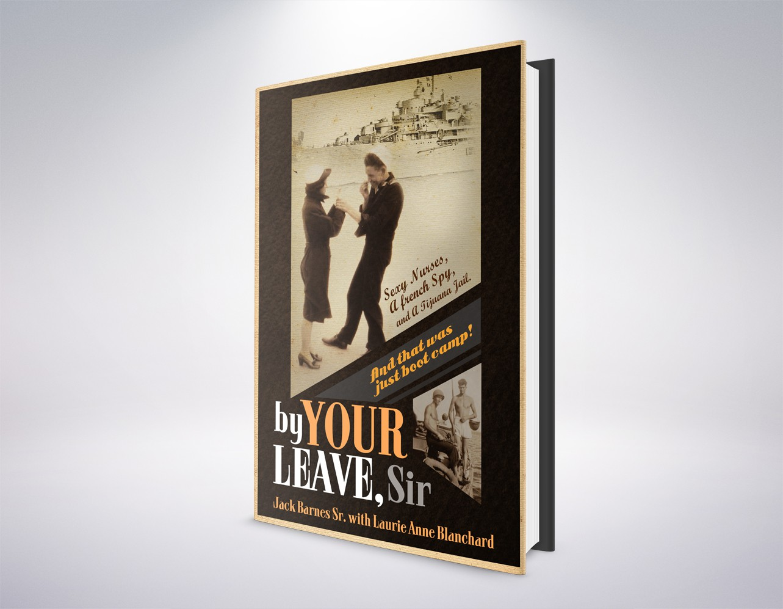 Create a winning book design for a World War II comedic adventure!
