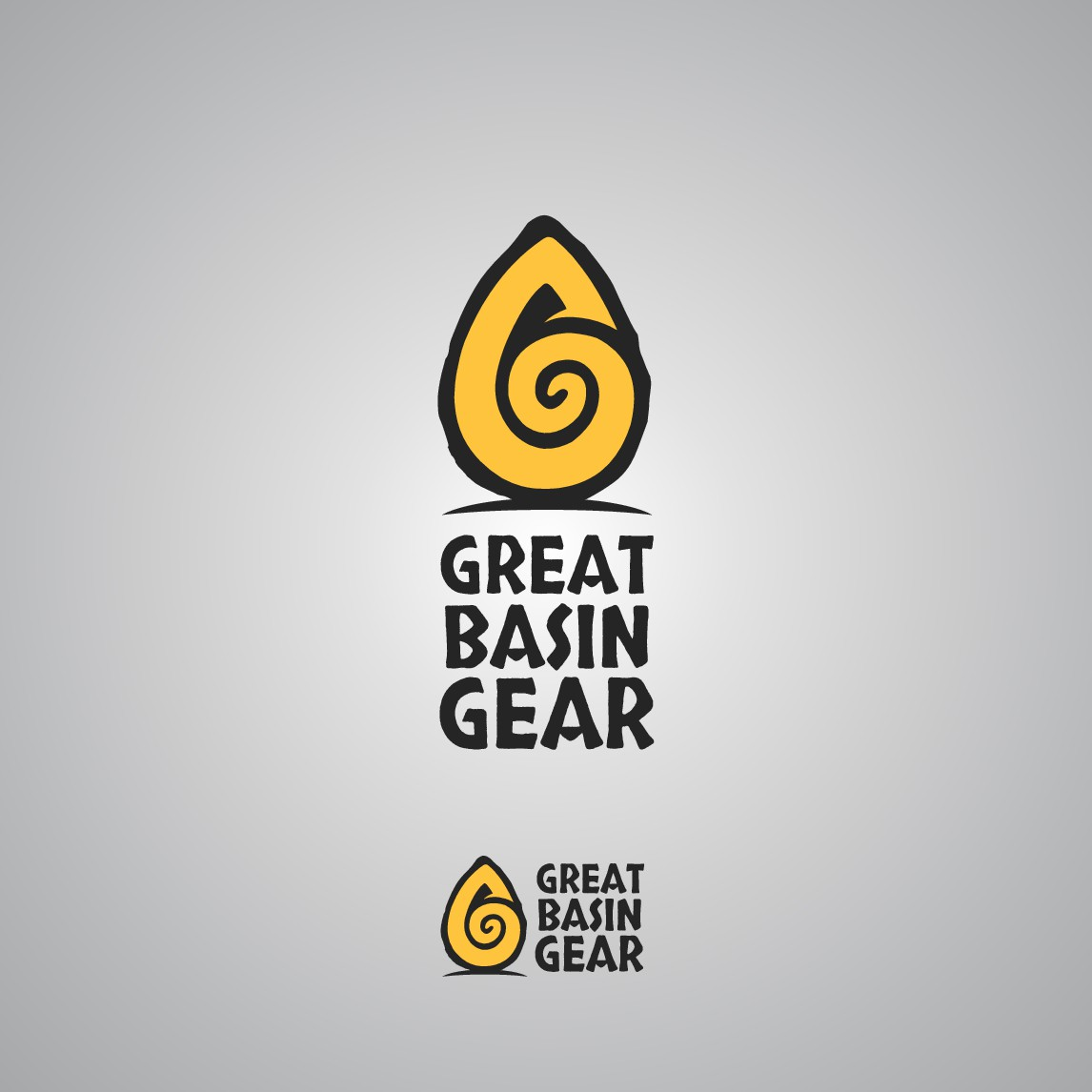 Seeking cavemen/women to design an outdoor gear logo.
