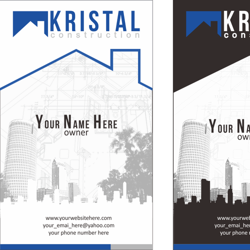 Create the next logo and business card for Kristal