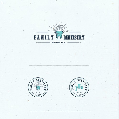 Logo concept for Detistry in Austin, Texas
