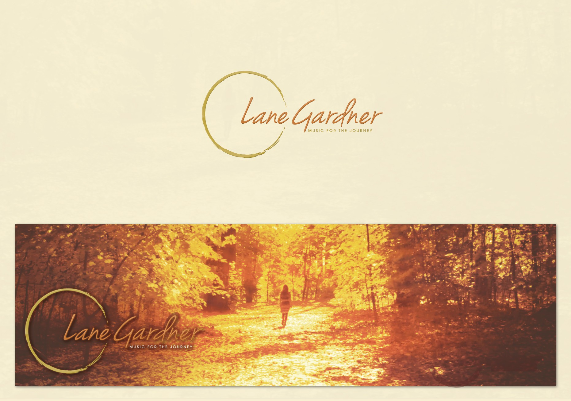 Create a logo and website for Singer/Songwriter Lane Gardner's upcoming debut album, Fertile Ground