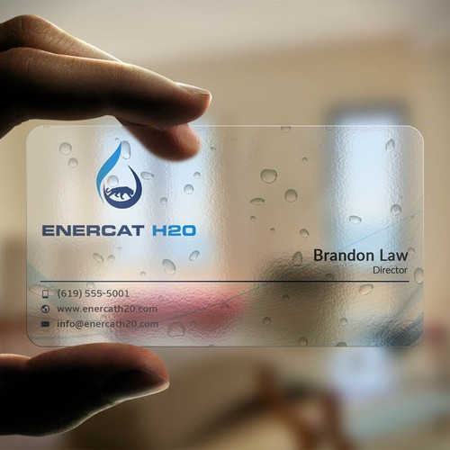 H2O Business card