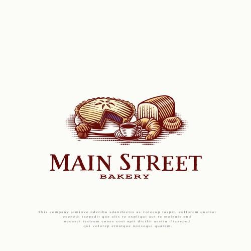 Logo for Main Street Bakery