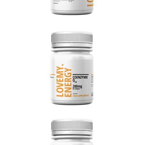 Modern Food Supplement Packaging