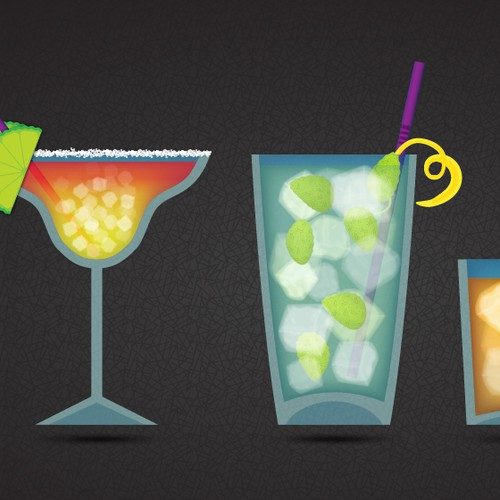 What Cocktail Can I Make (.com) - Illustration