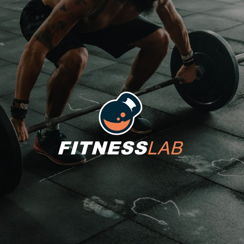 Logo for fitness studio