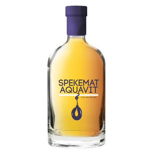 New design wanted for Spekemat Aquavit