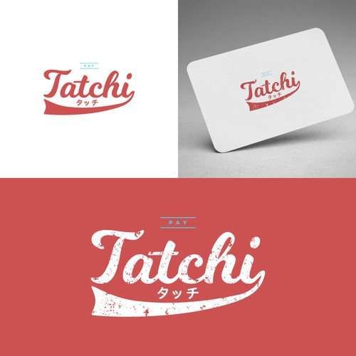 Retro logo concept, combining europe and japanese style.