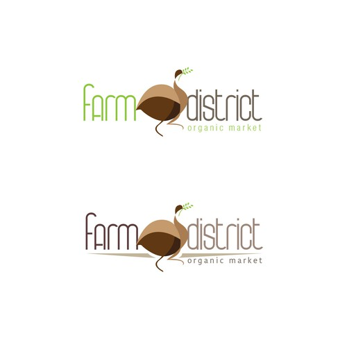 Logo entry for a new organic based store
