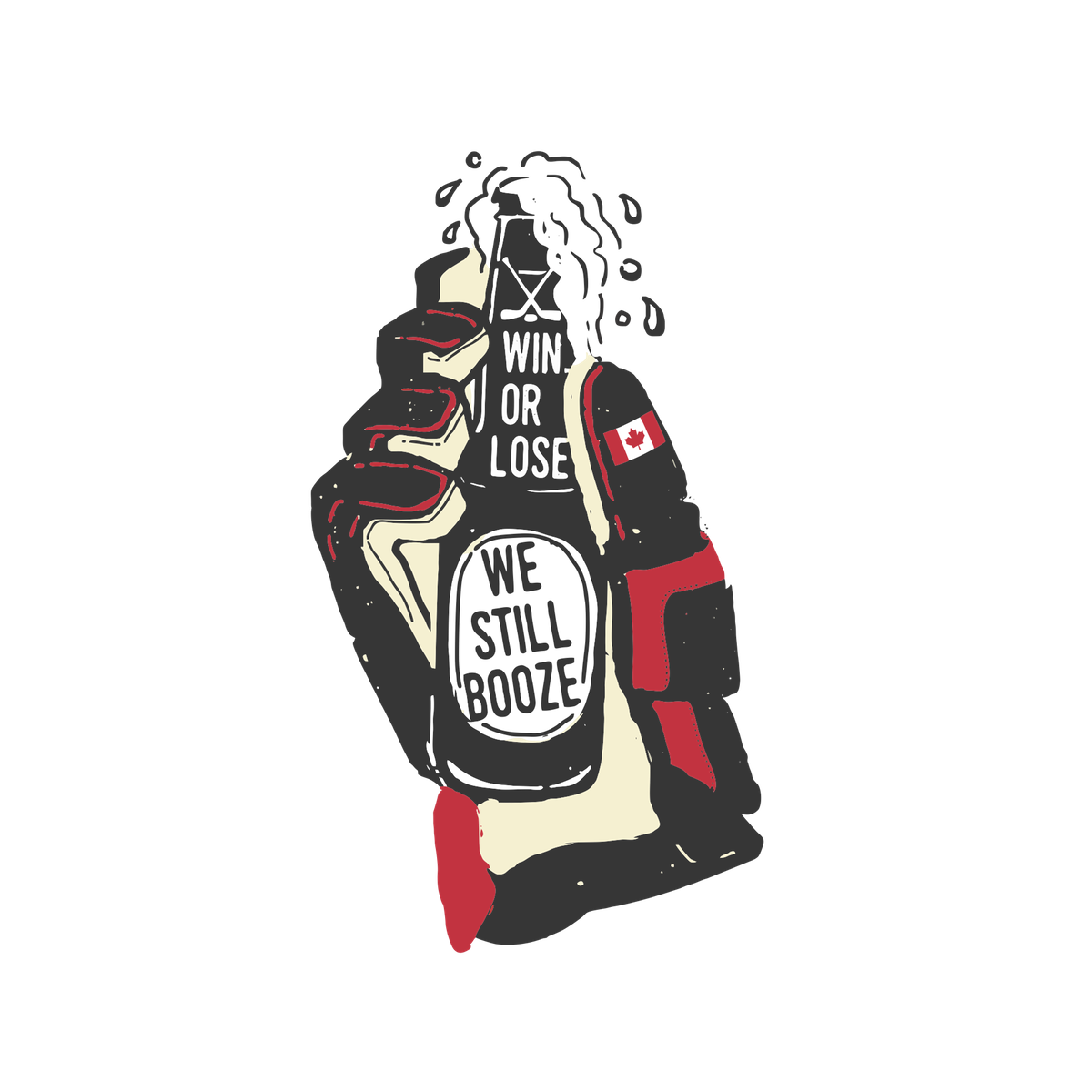USA & Canada Beer Drinker/ Booze Shirts