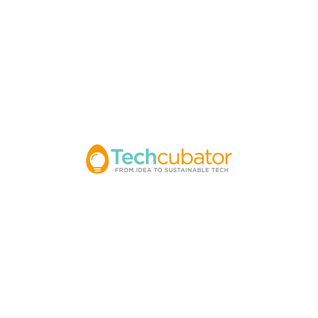 Tech based logo for an incubator with a soul