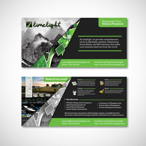 New postcard or flyer wanted for Limelight