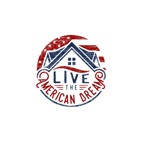 """logo for """"Live the American Dream"""""""