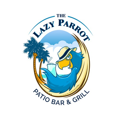 "Create a fun logo for a ""key West"" style sports bar with a large outdoor patio bar!"