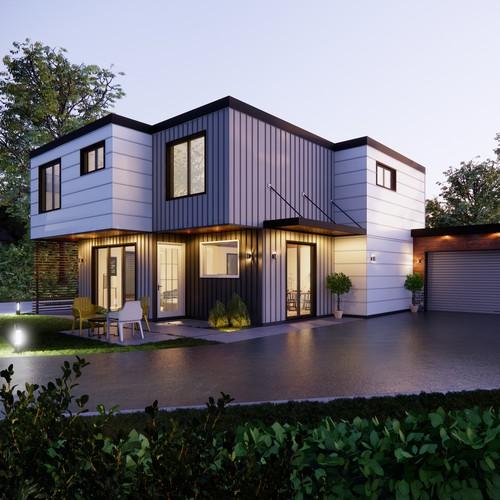 Exterior house design