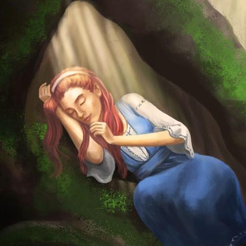 Illustration for a fantasy book