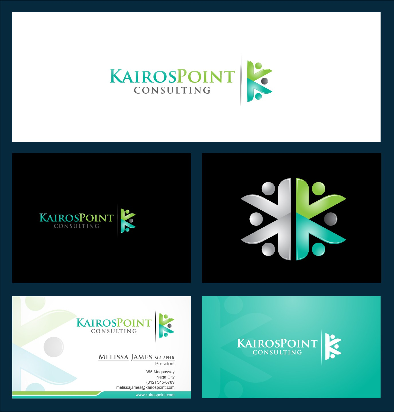 New logo and business card wanted for KairosPoint Consulting