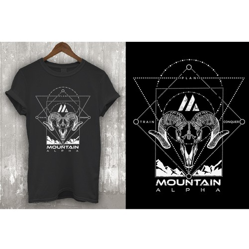 Design a Badass Limited Edition T-Shirt for Mountain Alpha