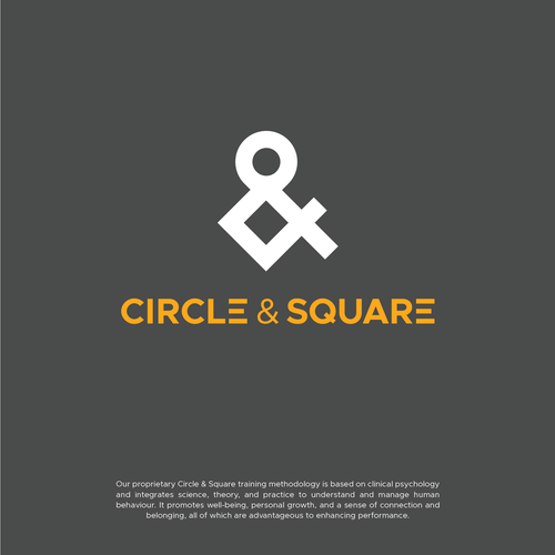 Logo for a company called Circle & Square