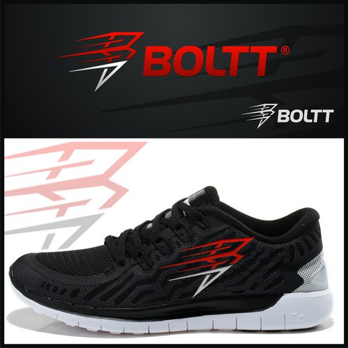 strong and fast bolt logo