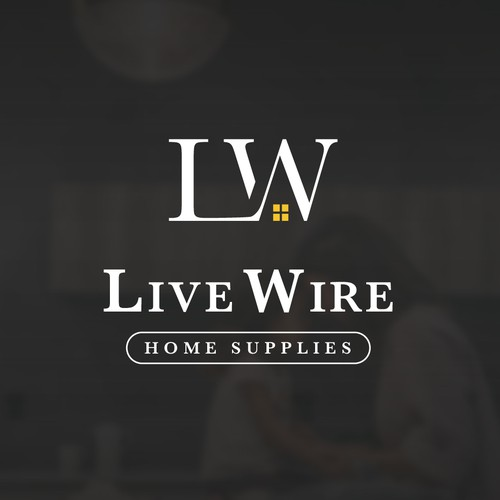 Logo Design Concept for Live Wire