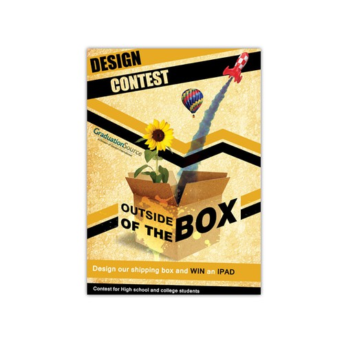 Help us create the Outside of The Box Design Contest for art students for GraduationSource.com