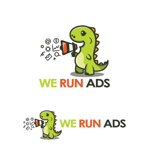 We Run Ads Logo