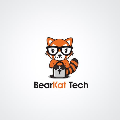 Design logo for Bearkat Tech