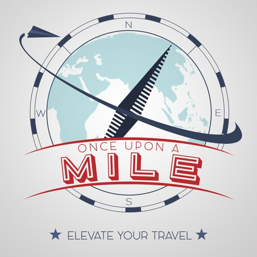 Logo for a travel blog