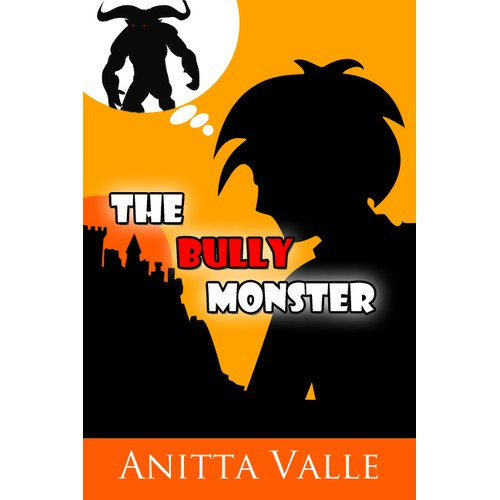 Cover for a Children's Book called 'The Bully Monster'.