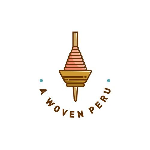 Logo concept for A Woven Peru