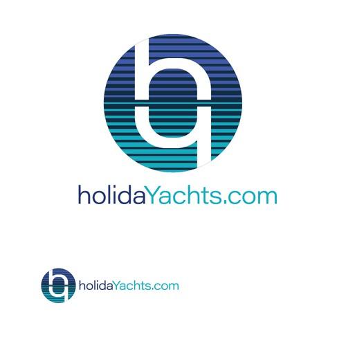 Reflective logo design for holidayachts - winner