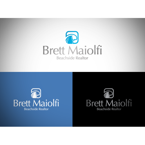 Create a logo for a real estate agent who targets beach homes!