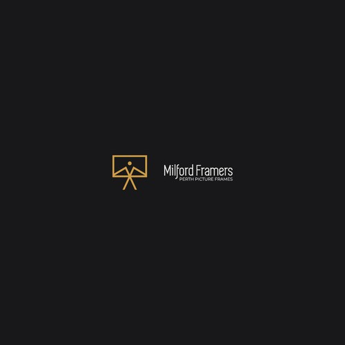 Simple Logo For Frame Company